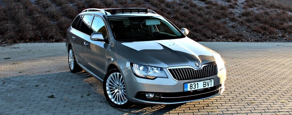 "Skoda Superb ""Final edition"" 