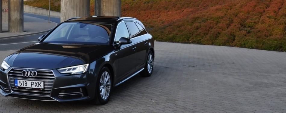 Audi A4 Avant S-Line   MÜÜDUD 23.10.2019