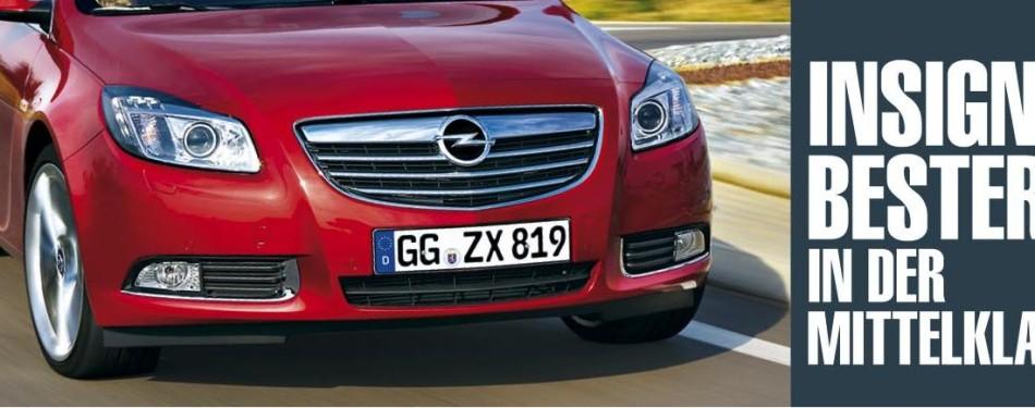 Kasutatud autode raportis on Opel Insignia taas esikohal